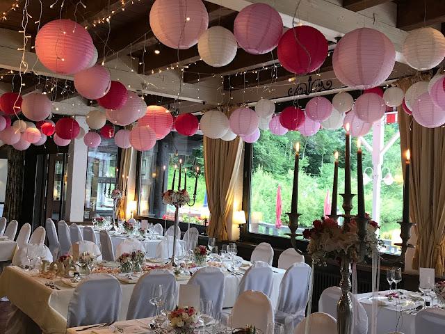 Seehaus, Hochzeit, , Riessersee Hotel, Garmisch-Partenkirchen, Bayern, Vintage, Rosen, Schleierkraut, Rosa, Pink, See und Berge