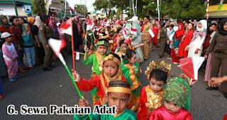 Sewa Pakaian Adat merupakan salah satu usaha menguntungkan jelang hari kemerdekaan