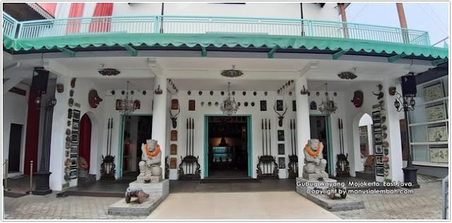 Museum Gubug Wayang;Destinasi Wisata Mojokerto