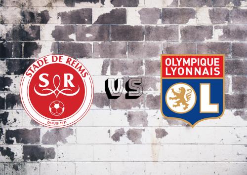 Reims vs Olympique Lyonnais  Resumen