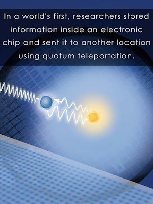 Scientists examine the science of teleportation successfully!
