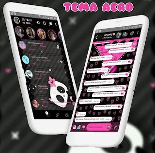 Panda Cute Theme For YOWhatsApp & Aero WhatsApp By Ale