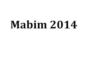Masa Bimbingan (MABIM) 2014