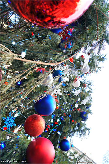 Árbol de Navidad de Bryant Park, Nueva York