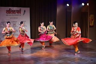 भगवान श्रीकृष्ण की कला अभिव्यक्तियों पर आधारित 3 दिवसीय ललित पर्व में व्याख्यान और सांस्कृतिक प्रस्तुतियां दी गई