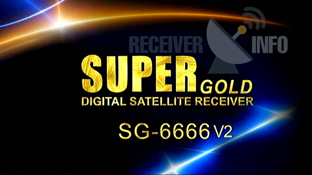 Super Gold Sg 6666 V2 Receiver Built In Wifi New Software
