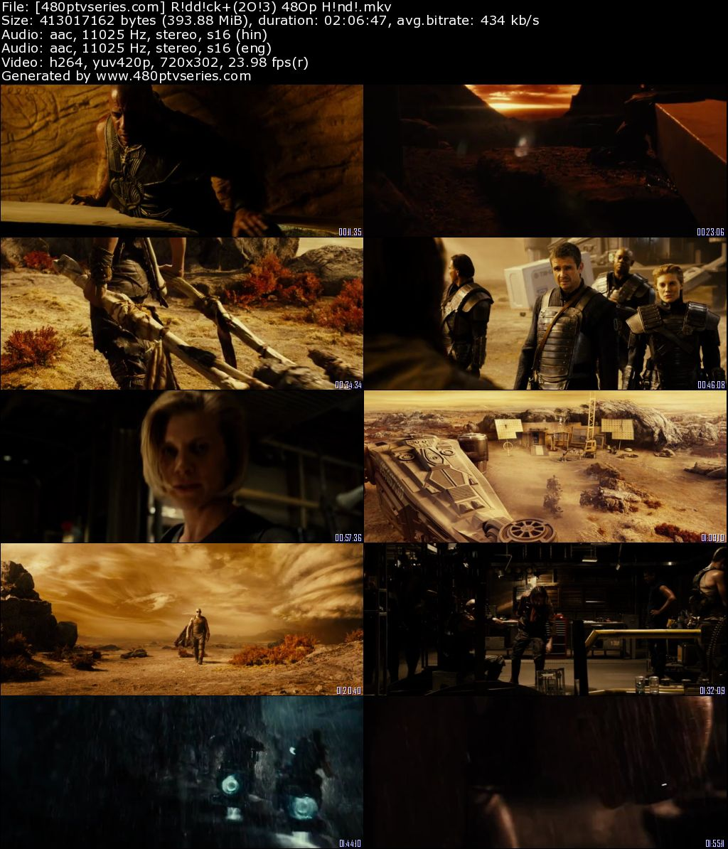 Riddick (2013) 350MB Full Hindi Dual Audio Movie Download 480p Bluray Free Watch Online Full Movie Download Worldfree4u 9xmovies