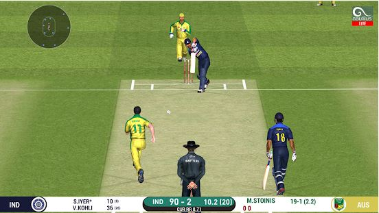 Real cricket 20 makes in the 2nd position of our list of Best Cricket Android Games of 2021