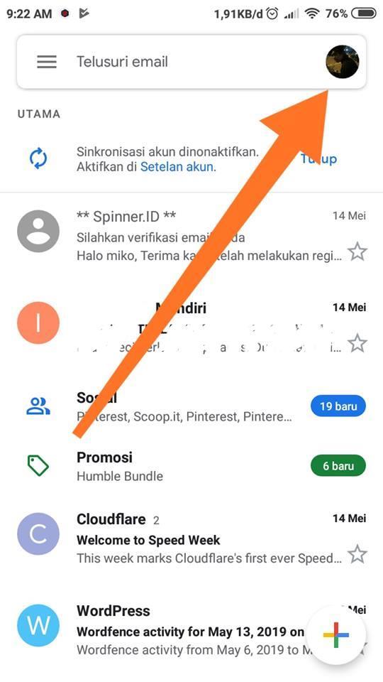 Lihat Cara Mengubah Alamat Email Di Gmail mudah