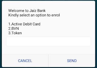 new jaiz bank code