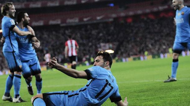 Vídeo resumen: Athletic 1 FC Barcelona 2 (Ida 1/4 Copa del Rey)