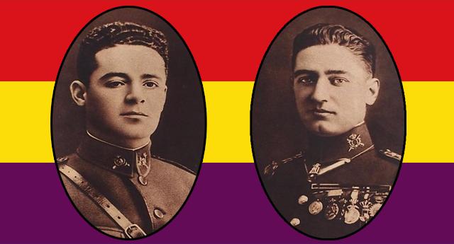 Galán y García: los capitanes de la primera tricolor