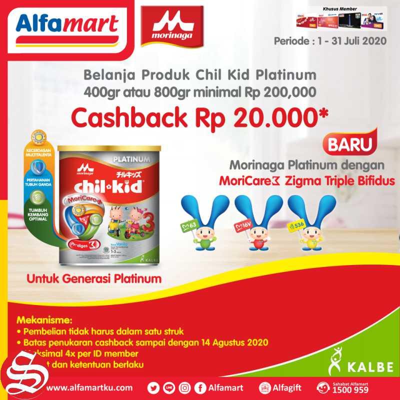 Alfamart Promo Child Kid Cashback 20% Setiap Belanja Minimal Rp 200.000