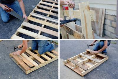 DIY Pallet Coffee Table Step by Step DIY