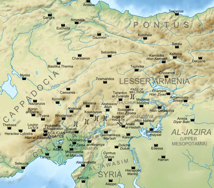 3rd Roman Map 4th And Centuries Empire