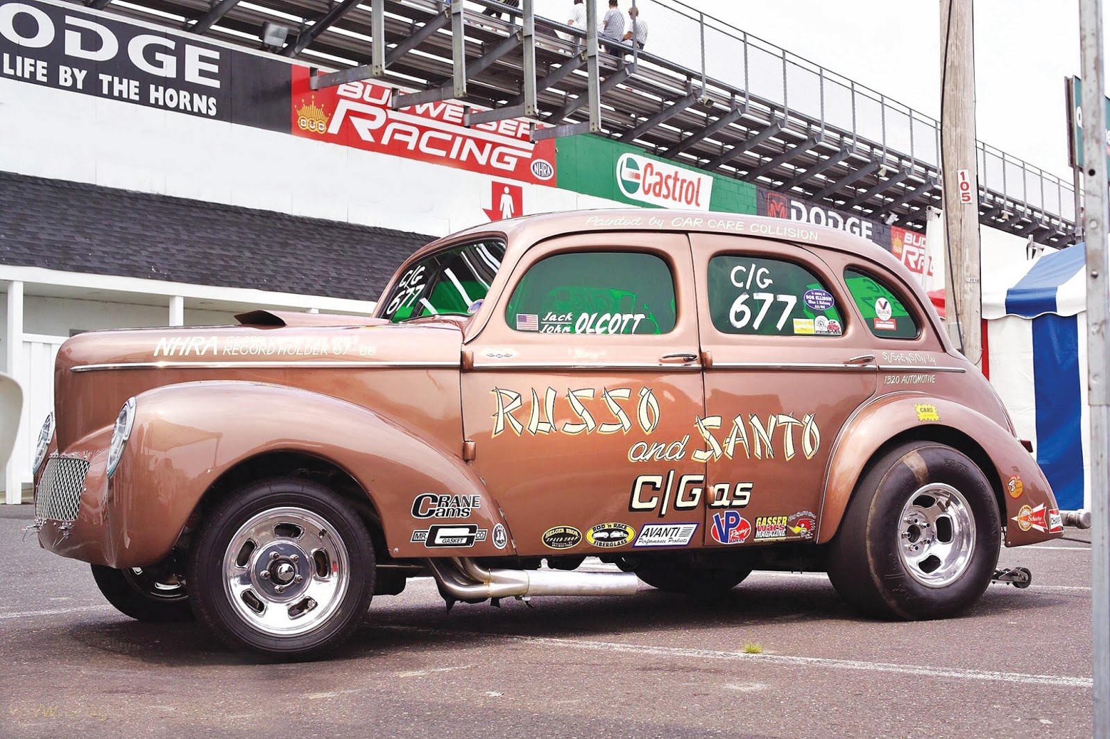 SWAP MEET: FOR SALE: '41 WILLYS GASSER