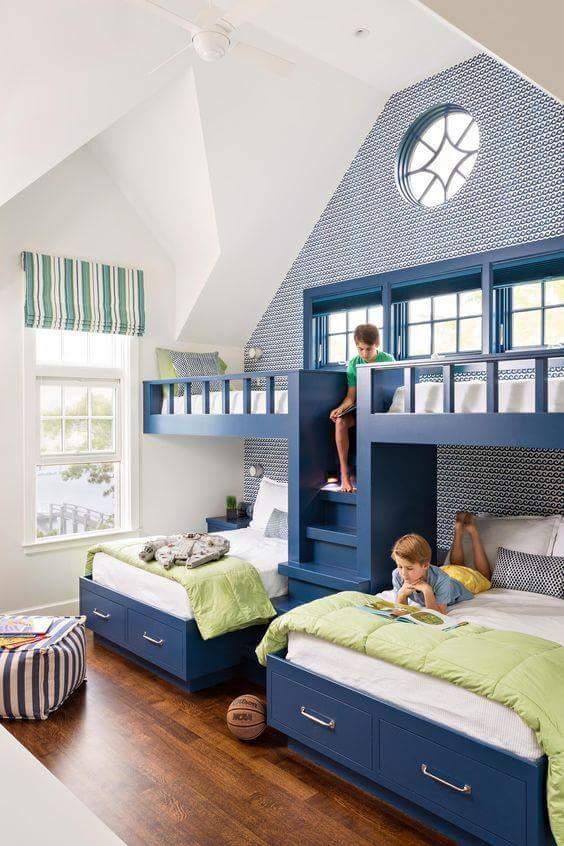 Los mejores cuartos y habitaciones para niños | Construccion y ...
