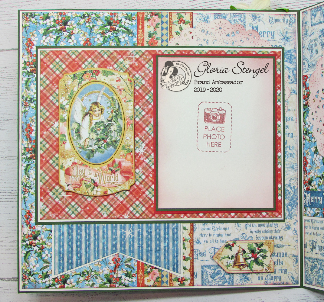 Graphic 45 Joy To The World Chipboard