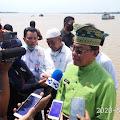 Bupati Inhil Lepas Ekspor Kelapa Perdana Melalui Pelabuhan Parit 21
