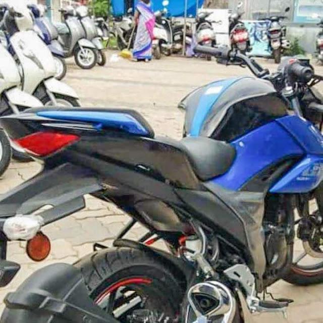Suzuki Gixxer 150cc tahun 2019 India Belakang