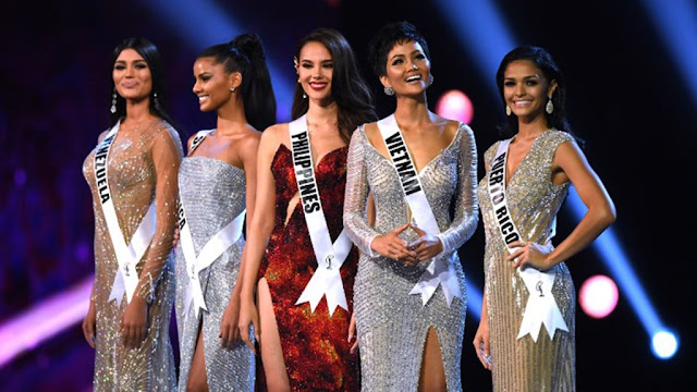 TOP 5 MIss Universe 2018