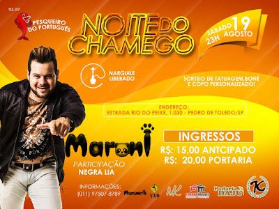 Agenda de Shows  do Maroni :