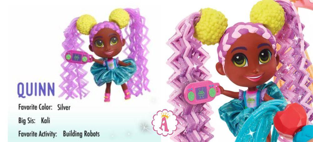 Кукла Quinn Hairdorables Short Cuts Jelly Hair series 2