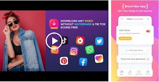 Pengunduh Video untuk Media Sosial-Tanpa Tanda Air