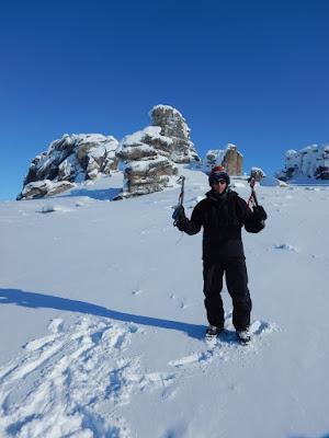 Ian climbs Serpentine