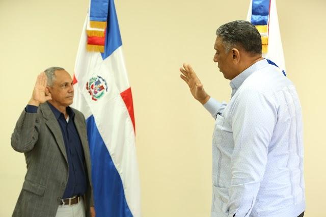 Ministro de Interior juramenta coordinador Regional Nordeste en Sectores Vulnerables