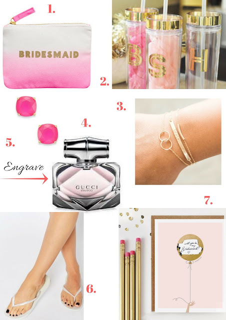 Gifts for your Bridesmaids
