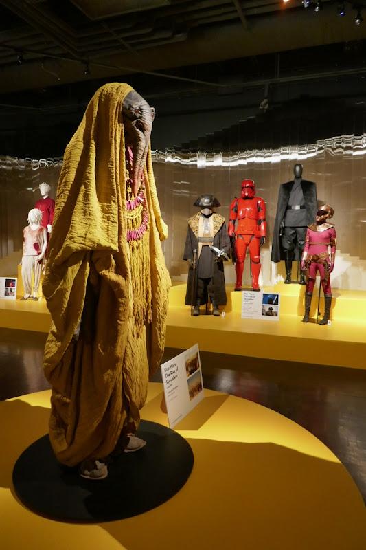 Star Wars Rise of Skywalker movie costumes FIDM Museum