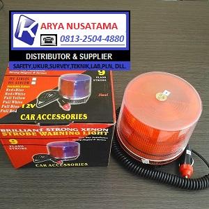 Jual Lampu Mobil Flash Magnet 24V di Pasuruan