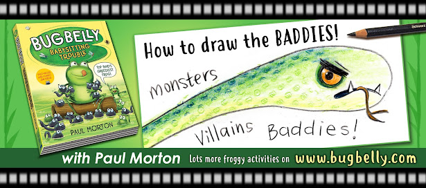 "video title ""How to draw the baddies"""