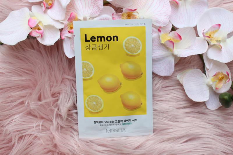 Mascarilla limón