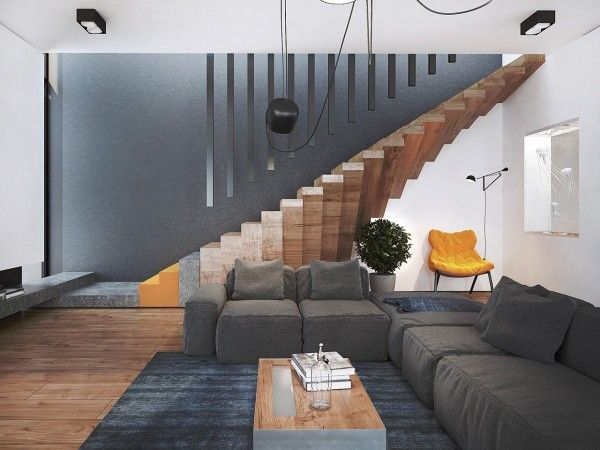 staircase waist slab design