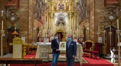 El Rejoneador Diego Ventura visita la Basílica y el Tesoro de la Macarena, pudo orar ante la Virgen de la Esperanza