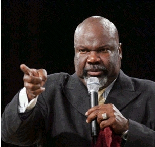Amen Halleluyah Blog!: Bishop T  D  Jakes ~