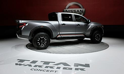 nissan titan warrior concept truck detroit auto show