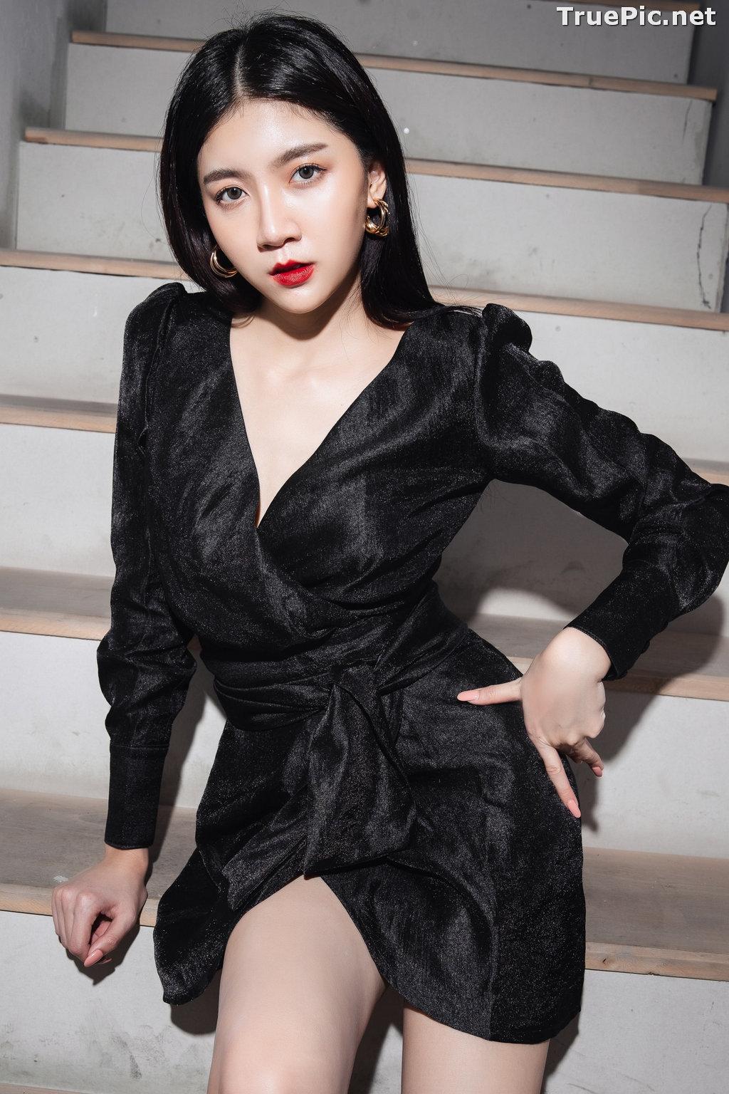 Image Thailand Model - Sasi Ngiunwan - Black For SiamNight - TruePic.net - Picture-17