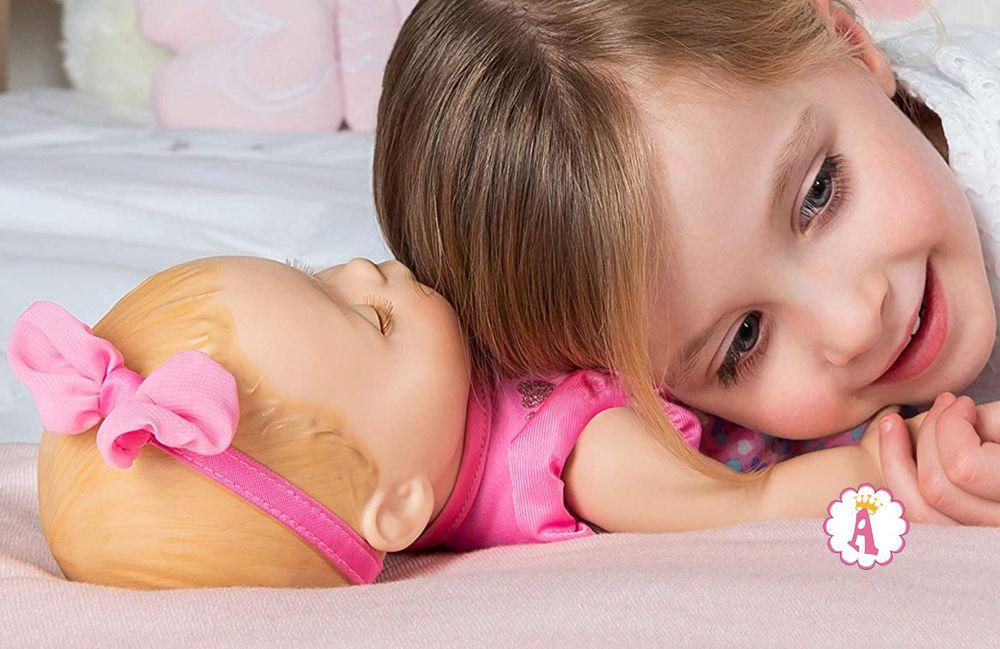 Кукла Лувабелла дышит и у нее бьется сердце Luvabella Newborn