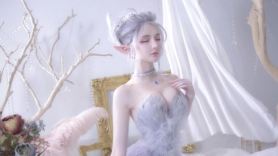 GhostBlade, Fantasy, Girl, Cosplay, Photoshoot, 4K, #6.2632