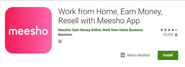 Start Reselling with Meesho today to start Online Business