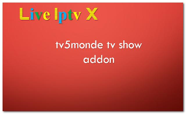tv5monde tv show addon