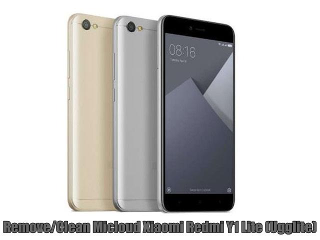 Remove/Clean Micloud Xiaomi Redmi Y1 Lite (Ugglite)