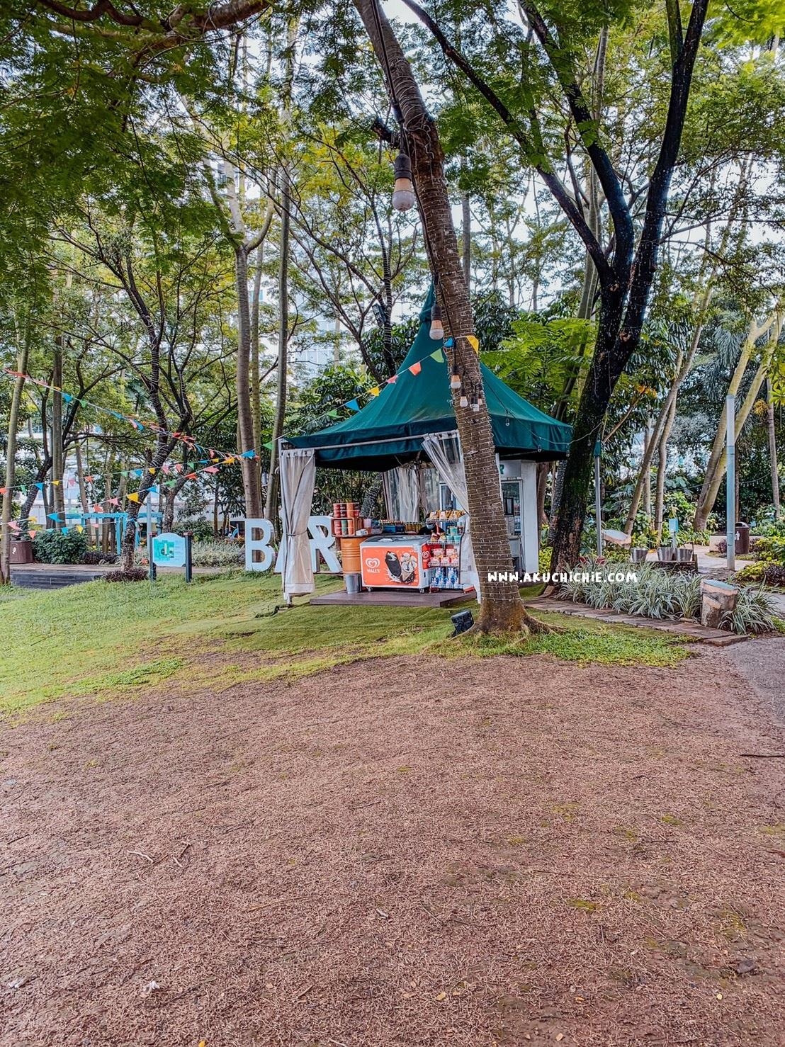 bermain ke scientia square park saat pandemi