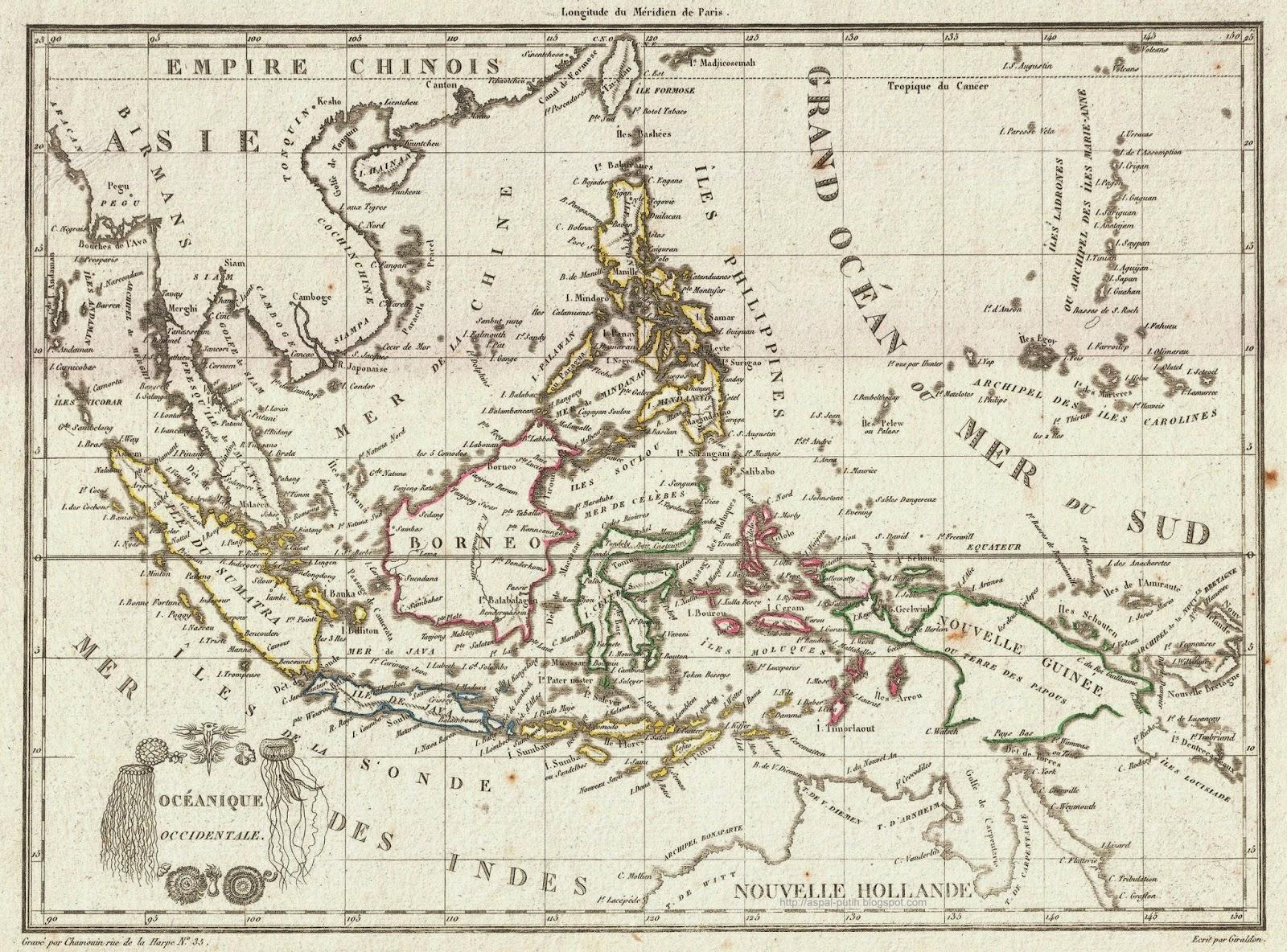Peta Kuno Dan Foto Zaman Penjajahan Aspal Putih