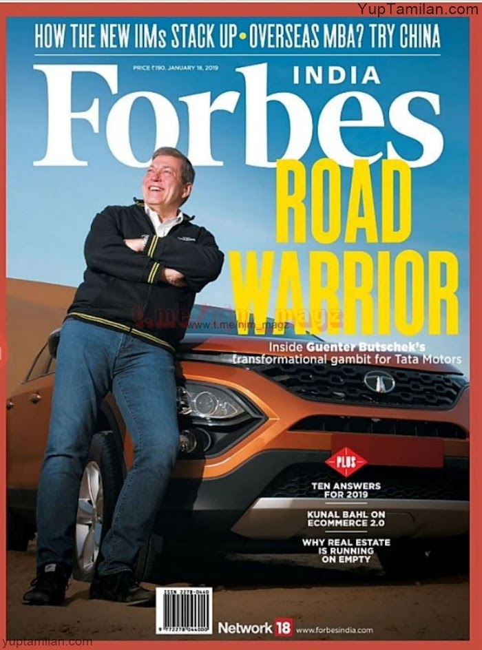 Forbes Magazine January 2019 PDF download