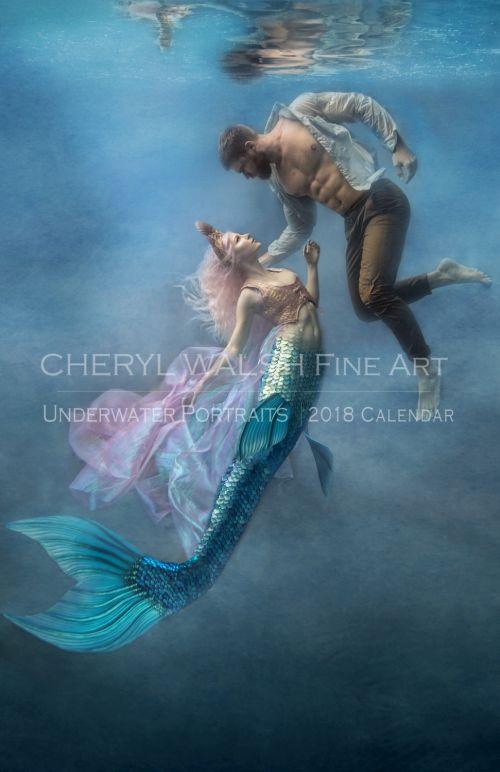 Cheryl Walsh arte fotografia subaquática surreal sonhos fashion água sereias fadas