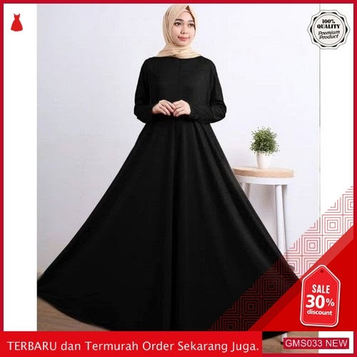 GMS033 KRSRH033G19 Gamis Jersey Polos Busui Super Dropship SK1567229063